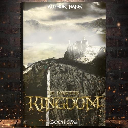 Fantasy Book cover - PRE-MADE